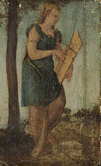 Woman with Shield