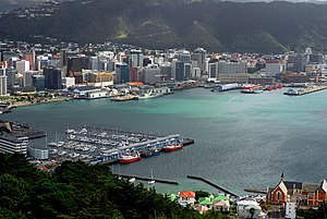 Wellington Harbour Board - Lambton Harbour.