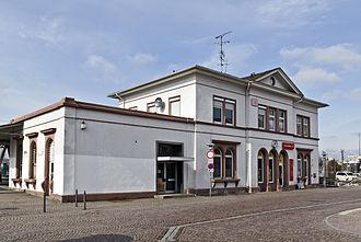 Langen, Hesse - Langen station