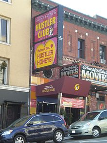 The Hustler Club in San Francisco