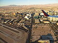Las Vegas Strip During Takeoff from McCarran International Airport, Las Vegas, Nevada (15702449195).jpg