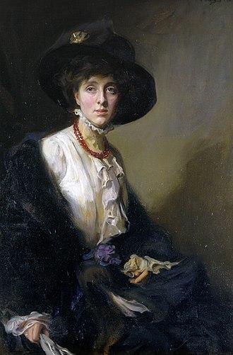 Vita Sackville-West - Vita Sackville-West by Philip de László, 1910