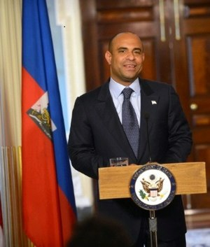 Laurent Lamothe - Lamothe in the US State Department, 2012