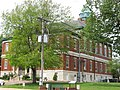Lawrence County Courthouse in Lawrenceville from the southeast.jpg