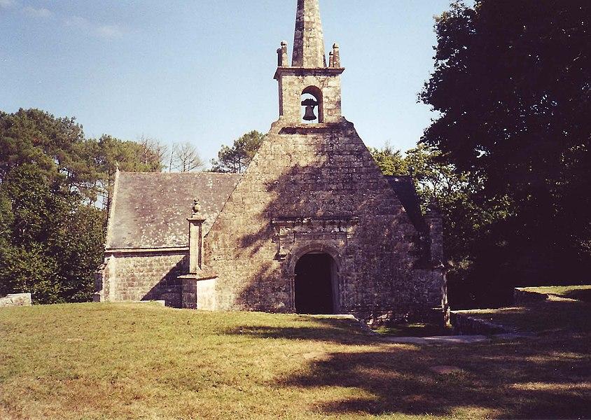 Le Bono: Chapelle Notre-Dame de Becquerel (Bretagne, Morbihan)