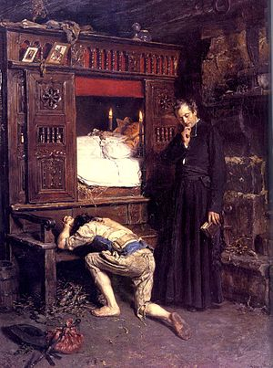 """Henry Mosler - """"Le Retour,"""" 1879"""