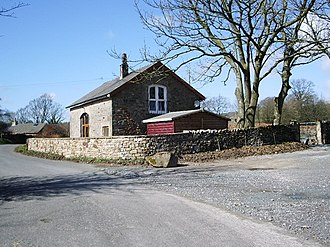 Bowland-with-Leagram - Image: Leagram Mill Barn geograph.org.uk 749475