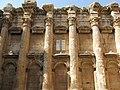 Lebanon, Baalbek, Roman columns with Corinthian capitals ornamenting the Temple of Jupiter.jpg