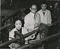 Left to right Chien-shiung Wu (1912-1997), Y.K. Lee, and L.W. Mo.jpg