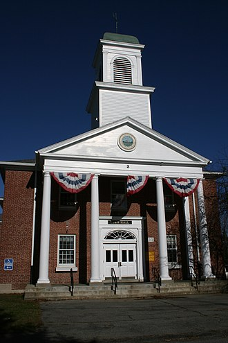 Leicester, Massachusetts - Leicester Town Hall