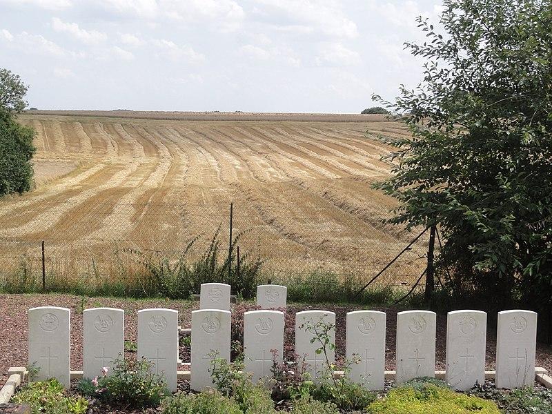 Lempire (Aisne) tombes de guerre de la CWGC