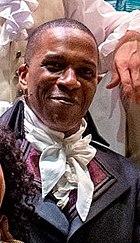 Leslie Odom Jr. jako Burr w Hamilton