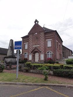 Levergies (Aisne) mairie.JPG