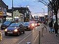 Leytonstone High Road Christmas lights, London, England 01.jpg