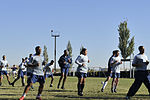 Liberandos, Bishkek Police Academy friendly soccer match ends in draw 121020-F-ER469-040.jpg