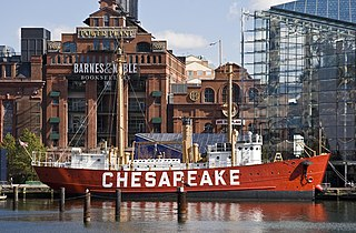 United States lightship <i>Chesapeake</i> (LV-116)