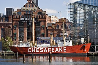 United States lightship Chesapeake (LV-116) - Lightship Chesapeake (LV 116)