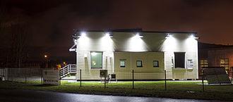 Zero-energy building - Zero-energy test building in Tallinn, Estonia. Tallinn University of Technology.