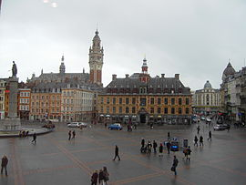 Lille city centre.
