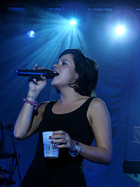 Lily Allen in 2009