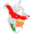 Limenitis arthemis range map.PNG