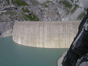 Barrage de Limmern (Canton de Glaris, Suisse)