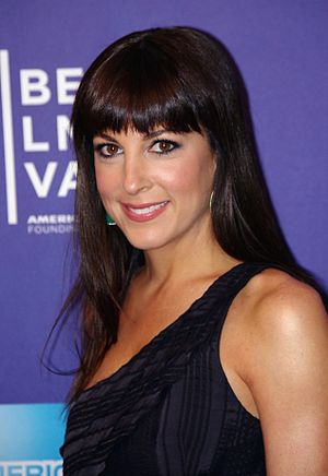 Lindsay Sloane - Sloane at the 2011 Tribeca Film Festival premiere of A Good Old Fashioned Orgy.