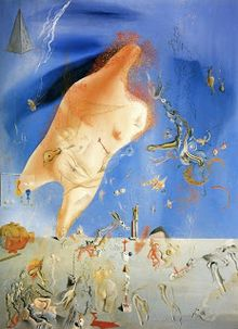 dali 1927 little ashes cenicitas oil painting location museo nacional centro de arte reina sofa madrid quote of dali 1927 just now im