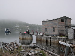 Little Bay Islands Town in Newfoundland and Labrador, Canada