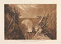 Little Devil's Bridge over the Russ, above Altdorft, Switzerland (Liber Studiorum, part IV, plate 19) MET DP821386.jpg