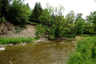 Rouge River (Ontario) - Little Rouge River is a tributary of the Rouge, that runs northeast to Bloomington.