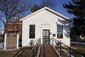 Little White Schoolhouse Ripon Wisconsin Feb 2012.jpg