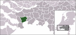 Location of Roosendaal