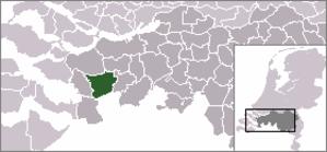Wouw - Image: Locatie Roosendaal