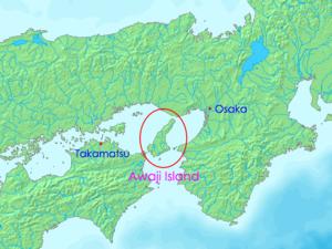 Awaji Island - Map of Awaji Island
