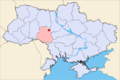 Location of Pohrebysche City in Ukraine.png
