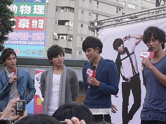 Lollipop F - Lollipop F at Four Dimensions Tainan autograph session in 2010