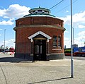 London, Woolwich Foot Tunnel, North Woolwich entrance building02.jpg