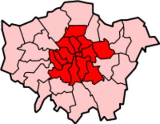 Inner London - Image: London Inner Census