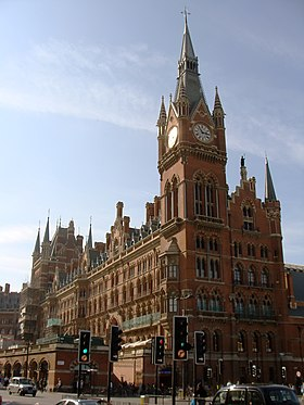 Image illustrative de l'article Gare de Saint-Pancras