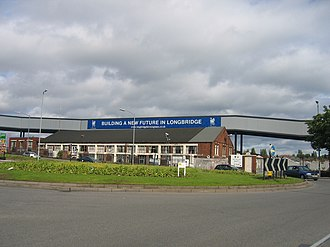 Longbridge plant - Longbridge in 2006