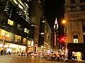 Looking Down 42nd Avenue to Chrysler Building, Manhattan, New York (7237730886).jpg