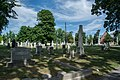 Looking E across section D 02 - Glenwood Cemetery - 2014-09-14.jpg
