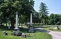 Looking SW across Sec 112-47-77 - Green Lawn Cemetery.jpg