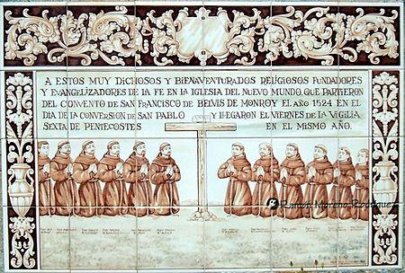 Resultado de imagen de MISIONEROS ESPAÑOLES EN NUEVA ESPAÑA