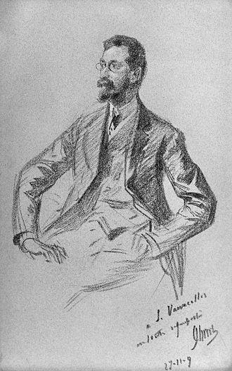 Louis Vauxcelles - Louis Vauxcelles, 1909 (Jules Chéret)