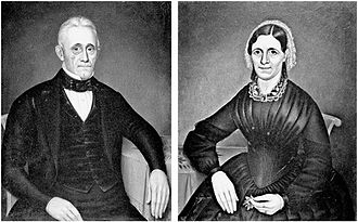 Louis Campau - Image: Louis and Sophie Marsac Campau painted by Charles Moore in 1852
