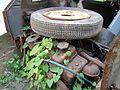 """Lublin - zdelezowany """"Maluch"""" Fiat 126p (07) - DSC00412 v1.jpg"""
