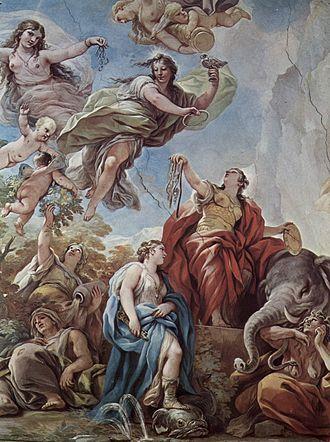 Temperance (virtue) - Temperantia, by Luca Giordano