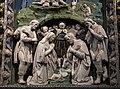Luca della robbia il giovane, natività con adorazione dei pastori, 1515 ca. 03.jpg